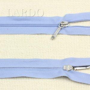 Молния LAMPO разъёмная, однозамковая, 26 см, №3, голубая