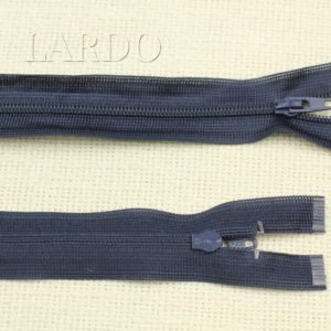 Молния YKK разъёмная, однозамковая, 30 см, №3, тёмно-синяя