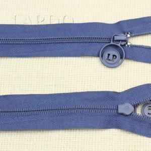 Молния разъёмная, однозамковая, 48 см, №3, синяя
