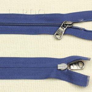 Молния LA PERLA разъёмная, однозамковая, 47 см, №3, тёмно-синяя