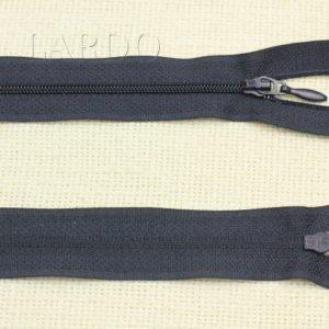 Молния UNIZIP разъёмная, однозамковая, 50 см, №3, тёмно-синяя