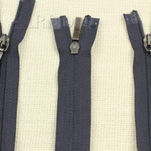 Молния YKK разъёмная, двухзамковая, 50 см, №3, тёмно-синяя