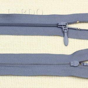Молния SALMI разъёмная, однозамковая, 54 см, №3, серо-голубая