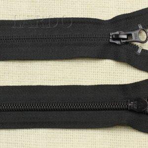 Молния YKK разъёмная, однозамковая, 20 см, №5, чёрная