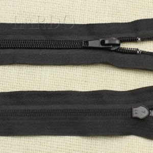 Молния разъёмная, однозамковая, 167 см, №5, чёрная