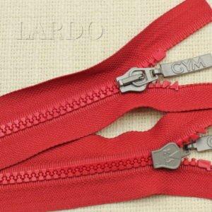 Молния ТРАКТОР, разъёмная, однозамковая, 50 см, №5, красная