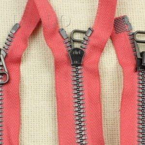 Молния RUBA ТРАКТОР, разъёмная, однозамковая, 53 см, №5, красная