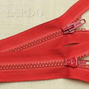 Молния LAMPO ТРАКТОР, разъёмная, однозамковая, 60 см, №5, красная