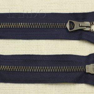 Молния ZIP разъёмная, однозамковая, 45 см, №5, синяя