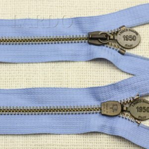 Молния PINCO PALLINO разъёмная, однозамковая, 52 см, №5, голубая