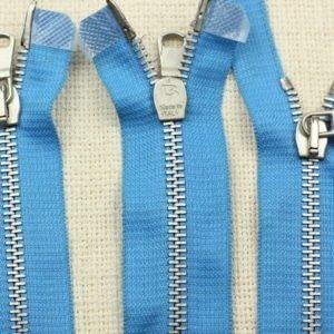 Молния PINCO PALLINO разъёмная, двухзамковая, 50 см, №5, голубая
