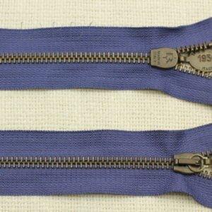 Молния PINCO PALLINO разъёмная, однозамковая, 35 см, №5, серо-синяя