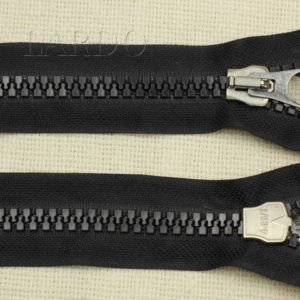 Молния Zip ТРАКТОР, разъёмная, однозамковая, 55 см, №9, чёрная