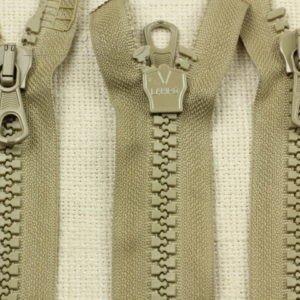 Молния SAB ТРАКТОР, разъёмная, двухзамковая, 50 см, №8, серая