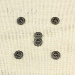 Пуговица металл ∅ 1,2 см никель