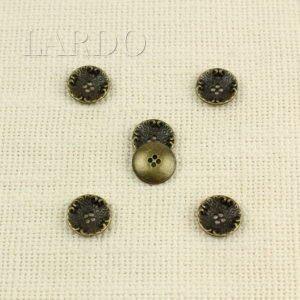 Пуговица металл оксид ∅ 1,5 см