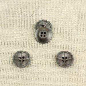 Пуговица металл никель ∅ 2,2 см