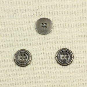 Пуговица металл ∅ 2,1 см никель