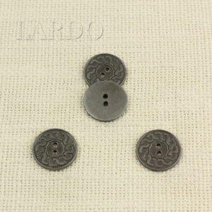 Пуговица металл никель ∅ 2,1 см
