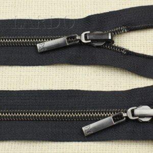 Молния KEE  БАБОЧКА разъёмная, однозамковая, реверс (перекидной бегунок) 60 см, №5, тёмно-синяя