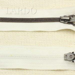 Молния MRS, металлизированная, однозамковая, 55 см, №5, слоновая кость