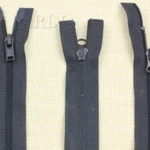 Молния UNIZIP разъёмная, двухзамковая, 67 см, №3, тёмно-синяя