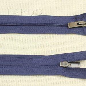 Молния разъёмная, однозамковая, 65 см, №3, тёмно-синяя