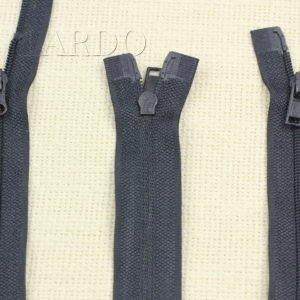 Молния UNIZIP разъёмная, двухзамковая, 70 см, №3, тёмно-синяя