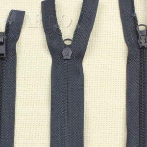 Молния UNIZIP разъёмная, двухзамковая, 71 см, №3, тёмно-синяя