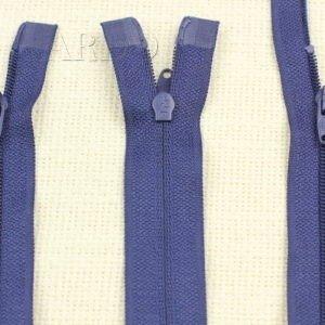 Молния UNIZIP разъёмная, двухзамковая, 85 см, №3, тёмно-синяя