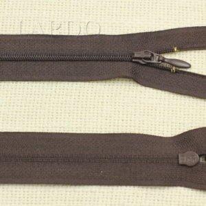 Молния UNIZIP разъёмная, однозамковая, 50 см, №3, коричневая