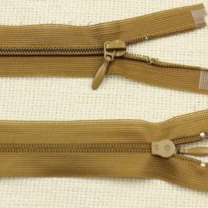 Молния разъёмная, однозамковая, 99 см, №3, коричневая