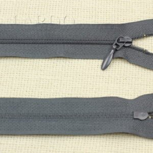 Молния разъёмная, однозамковая, 65 см, №3, тёмно-серая