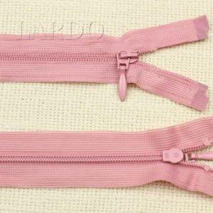 Молния UNIZIP разъёмная, однозамковая, 21 см, №3, розовая