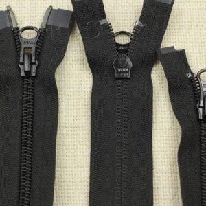 Молния YKK разъёмная, двухзамковая, 45 см, №5, чёрная