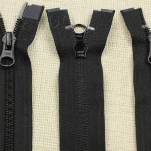 Молния YKK разъёмная, двухзамковая, 75 см, №5, чёрная