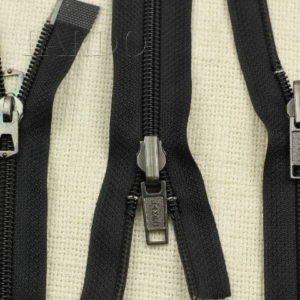 Молния LAMPO разъёмная, двухзамковая, реверс (перекидной бегунок), 82 см, №5, чёрная