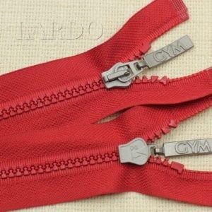 Молния ТРАКТОР, разъёмная, однозамковая, 66 см, №5, красная
