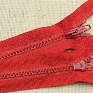 Молния LAMPO ТРАКТОР, разъёмная, однозамковая, 70 см, №5, красная