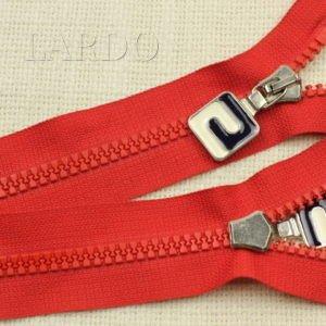 Молния ТРАКТОР, разъёмная, однозамковая, 72 см, №5, красная
