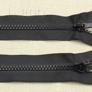 Молния YKK VISLON ТРАКТОР, разъёмная, однозамковая, 65 см, №5, чёрная