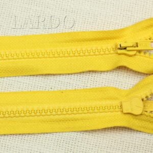 Молния SALMI ТРАКТОР, разъёмная, однозамковая, 55 см, №5, жёлтая