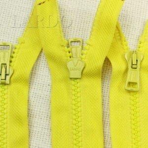 Молния LAMPO ТРАКТОР, разъёмная, двухзамковая, 72 см, №5, жёлтая