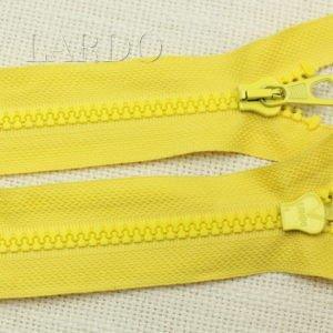 Молния LAMPO ТРАКТОР, разъёмная, однозамковая, 80 см, №5, жёлтая