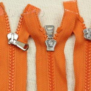 Молния CZ ТРАКТОР, разъёмная, двухзамковая, 75 см, №5, оранжевая