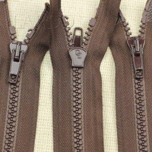 Молния ТРАКТОР, разъёмная, однозамковая, 62 см, №5, светло-коричневая