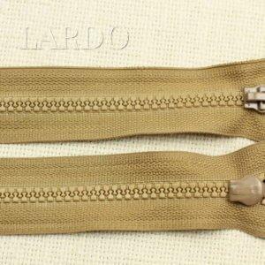 Молния YKK VISLON ТРАКТОР, разъёмная, двухзамковая, 65 см, №5, светло-коричневая