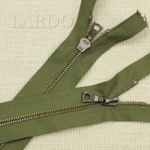Молния Ri-Ri, неразъёмная, однозамковая, 16 см, №4, зелёная
