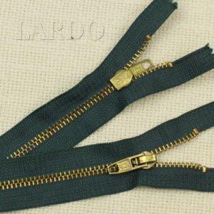 Молния Ri-Ri, неразъёмная, однозамковая, 22 см, №4, оливковая