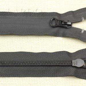 Молния YKK ВОДОНЕПРОНИЦАЕМАЯ, разъёмная, однозамковая, 68 см, №7, чёрная